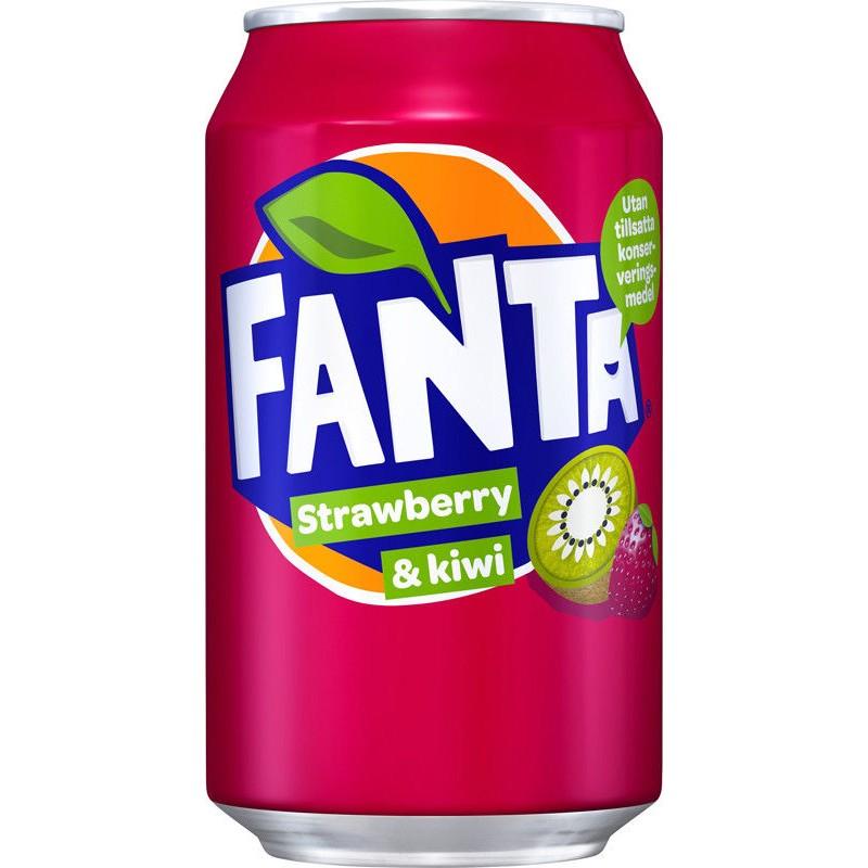 Fanta Strawberry&Kiwi 24x33cl (EU)