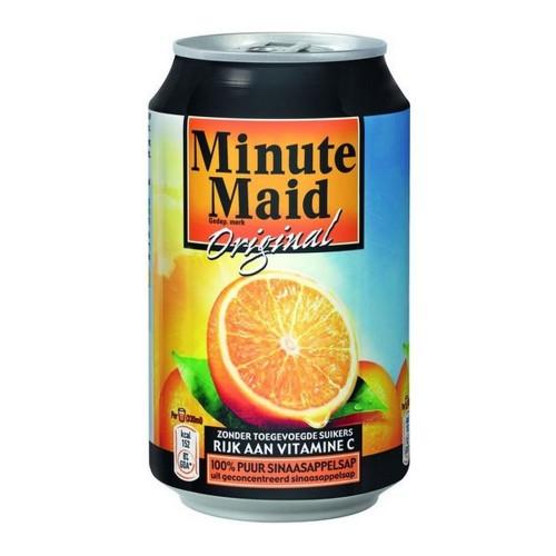 Jus D'Orange Minute Maid 24x33cl