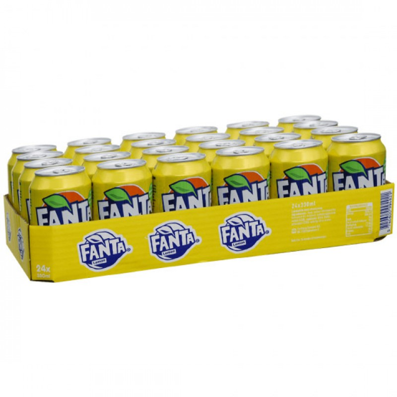 Fanta Lemon 24x33cl (EU)