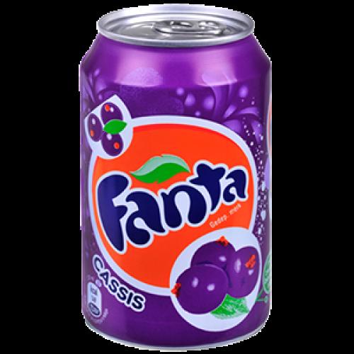 Fanta Cassis  24x33cl