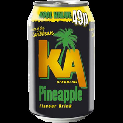 Ka Pineapple 24x33cl (EU)